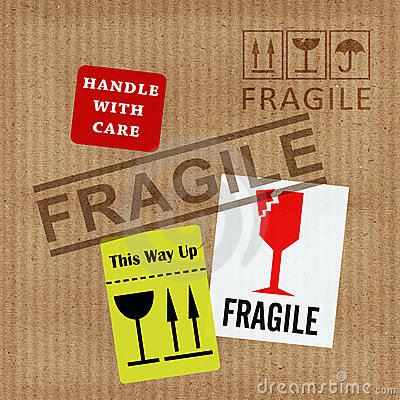 Aviso frágil