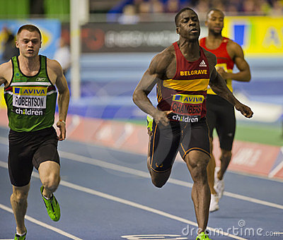 Aviva Indoor UK Trials and Championships Editorial Photo