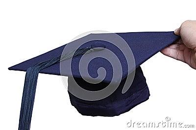 Avläggande av examenhatt