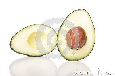 Avocado cross section