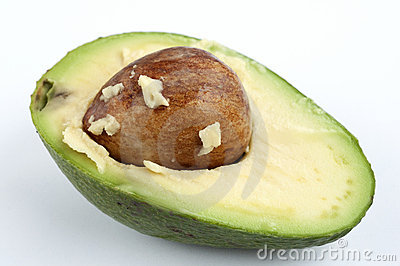 Avocado cut