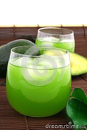 Free Avocado Juice Royalty Free Stock Photos - 5205458