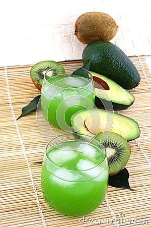 Free Avocado Juice Royalty Free Stock Photos - 5205848