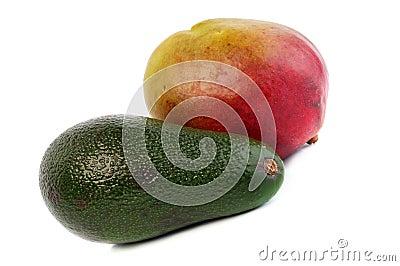 Avocado And mango