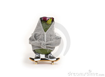 Avocado Skateboarding