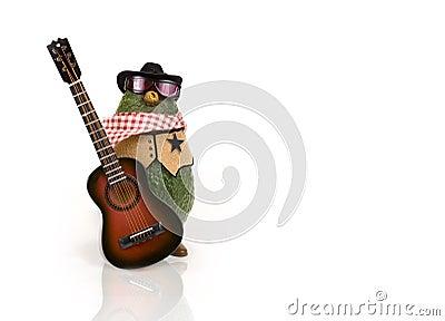 Avocado - Western with Guitar