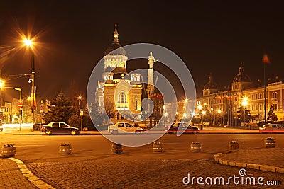 Avram Iancu Square-Cluj napoca,Romania