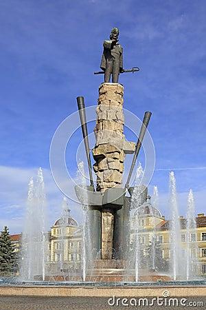Avram Iancu Statue- Cluj Napoca,Romania