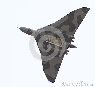 Avro Vulcan bomber Editorial Stock Photo