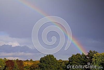 Avsluta av regnbågen