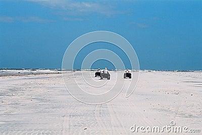 Avventura alla spiaggia abbandonata