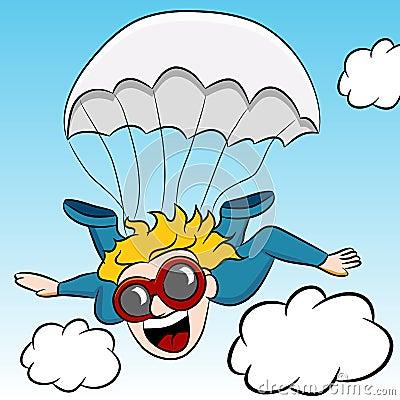 Avventura di Skydiving
