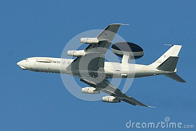 AWACS (No. 3) Editorial Photography