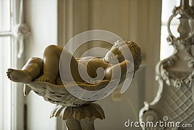 Awaking Cherub, Catherine Palace