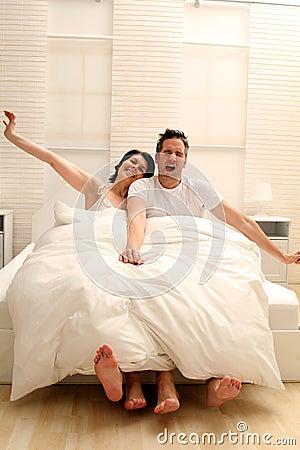Awaking couple