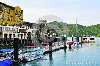 The awana porto malai resort in Langkawi Editorial Photography