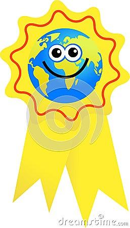 Award globe