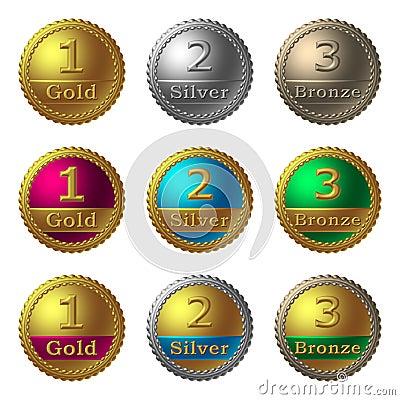 Free Award Medals Royalty Free Stock Photos - 2497638