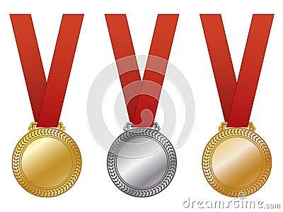 Award Medals EPS