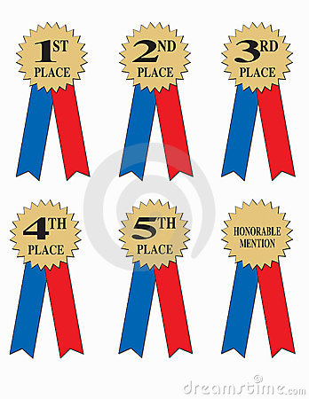 Free Award Or Winner Ribbons  Stock Photos - 18528653