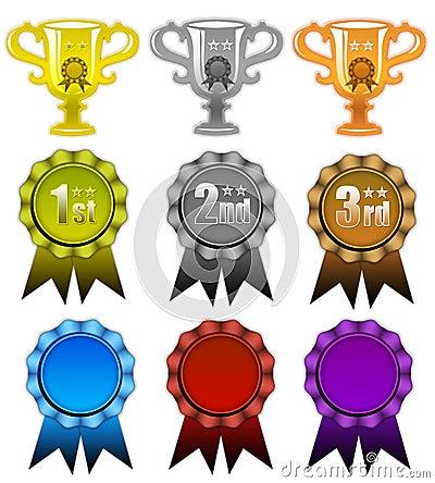 Awards and ribbons