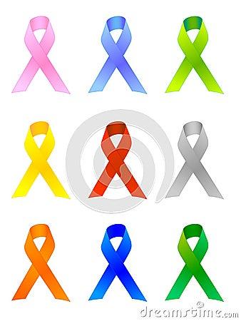 Awareness Ribbons / EPS