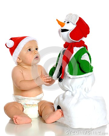 Awed by Snowman