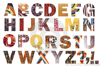 Awesome Abstract Alphabet!