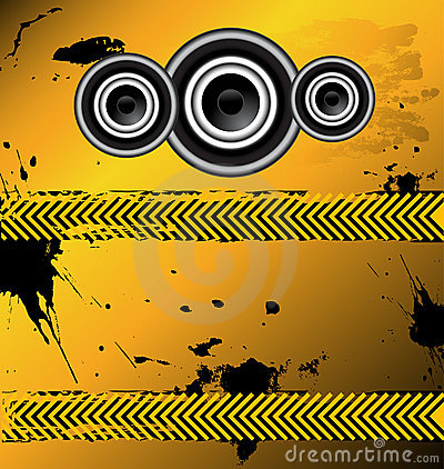 An awesome music design vector