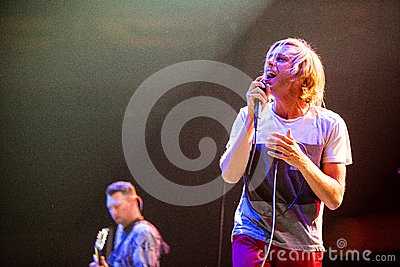 Awolnation concert at Bumbershoot Editorial Photography