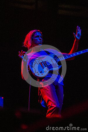 Awolnation concert at Bumbershoot Editorial Stock Image