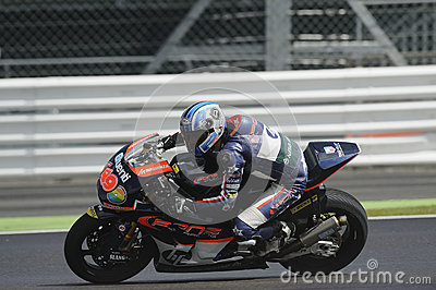 Axel pons, moto 2, 2012 Editorial Stock Image