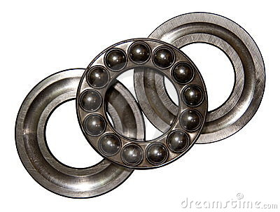 Axial ball bearing