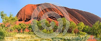 Ayer rock or Uluru outback Australia Editorial Image