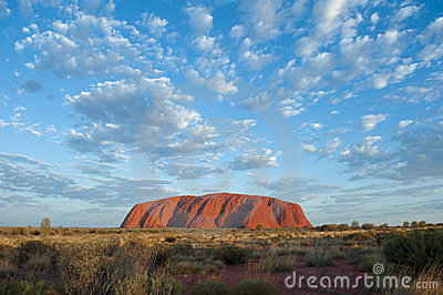 Ayers Rock (Uluru) Editorial Image