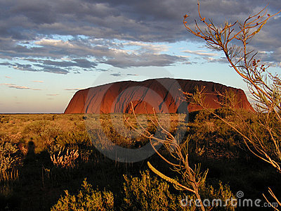 Ayers Rock - Uluru Editorial Stock Image