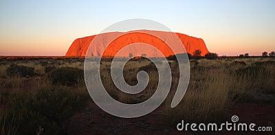 Ayers Rock Uluru Editorial Stock Photo