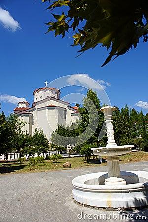 Ayios Ioannis o Rossos church Greece