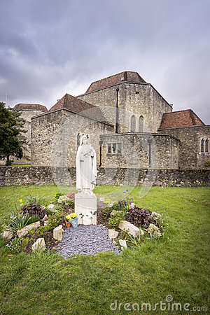 Aylesford priory stock photo image 56162014 for Rosary garden designs