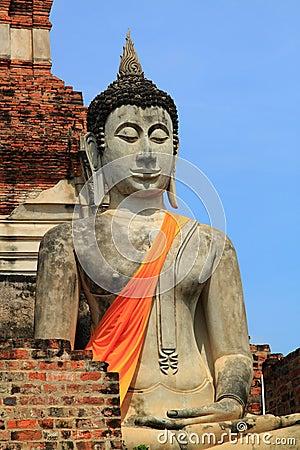 Ayuthaya buddha image