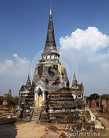 Ayutthaya near Bangkok - Thailand