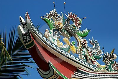 Ayutthaya, Thailand: Chinese Roof /Royal Palace