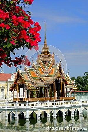 Ayutthaya, Thailand: Golden Pavilion