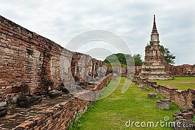 Ayutthaya, Thailand temple