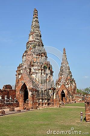 Ayutthaya, Thailand: Wat Chai Watthanaram