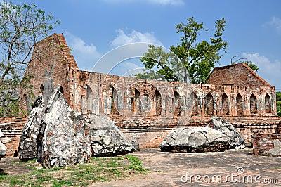 Ayutthaya, Thailand:  Wat Gudidao Ruins