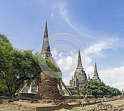 Free Ayutthaya : Wat Phra Sri Sanphet Temple Royalty Free Stock Photo - 15318995
