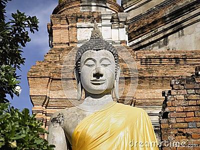 Ayutthaya   Wat Yai Chai Mongkon