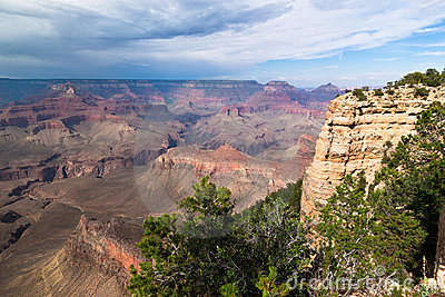 AZ-Grand Canyon--S. Rim-Pima Point