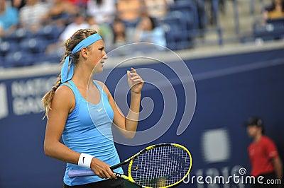 Azarenka Victoria BLR # 1 WTA 22 Editorial Stock Image